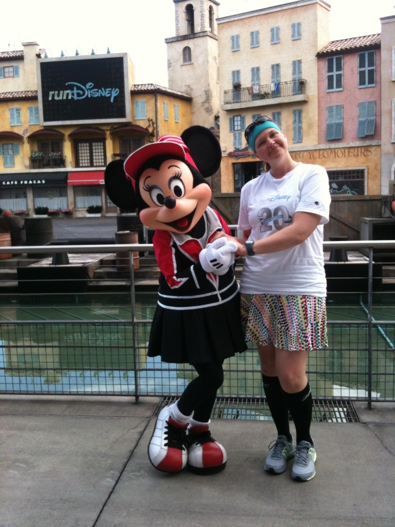 Minnie and Me, Last Year's WDW Marathon MeetUp