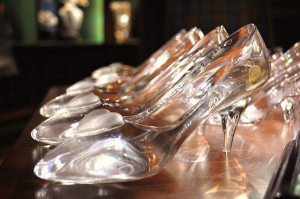 The real Glass Slipper Challenge? WALKING. photo credit: mich&pics via photopin cc