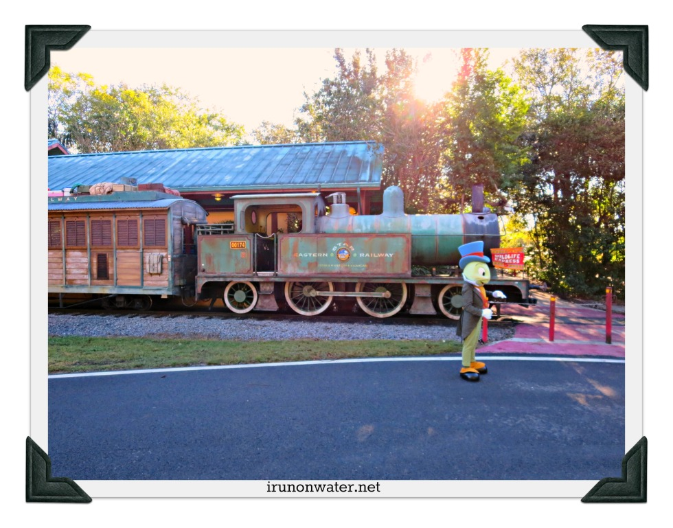 Sorry, Jiminy, but that's not the train we're looking for.