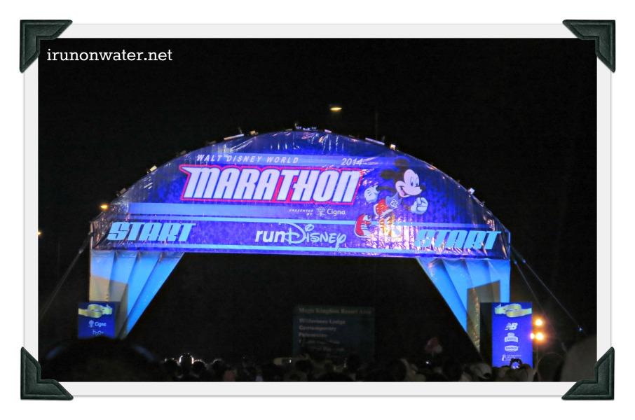 Marathon Start Banner