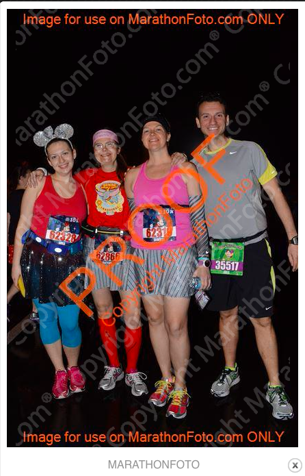 From Left to Right: Kathryn, Rachael, Me and Greg, aka The Gang! Source: Marathonphoto